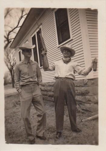 1940s Hanley Baird and Ernie Faulkner