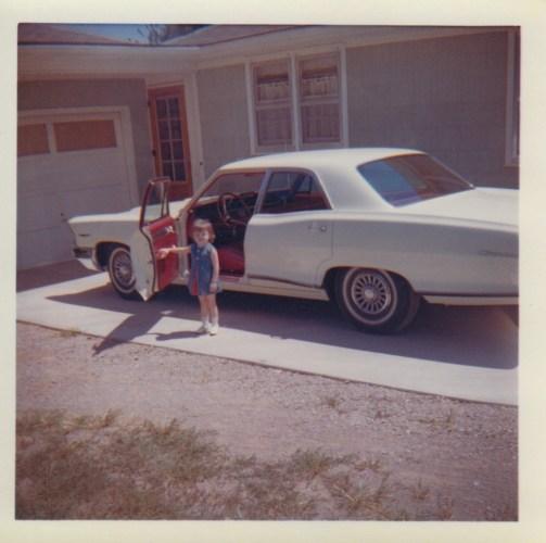 Kimberli Faulkner at Eleanor's house, 1965