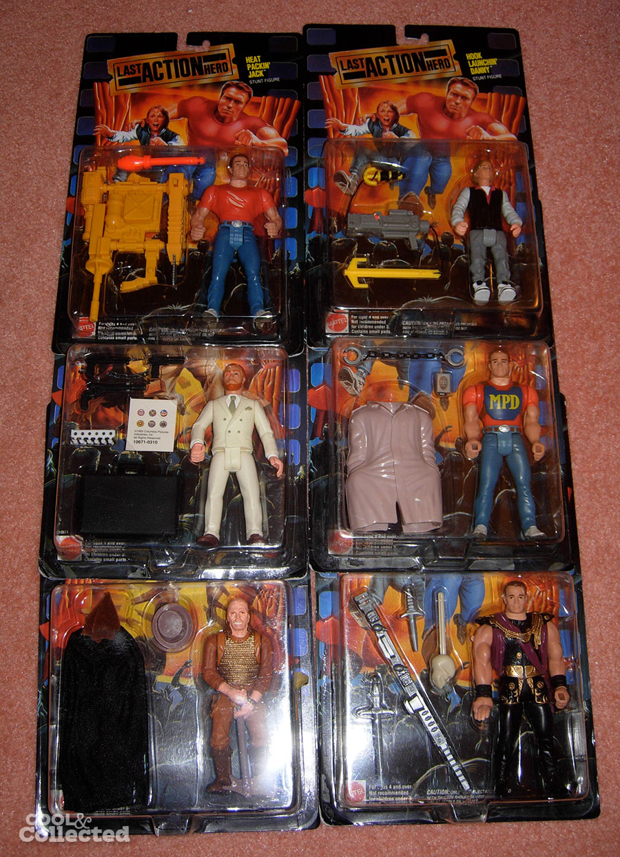 The Last Action Hero figs