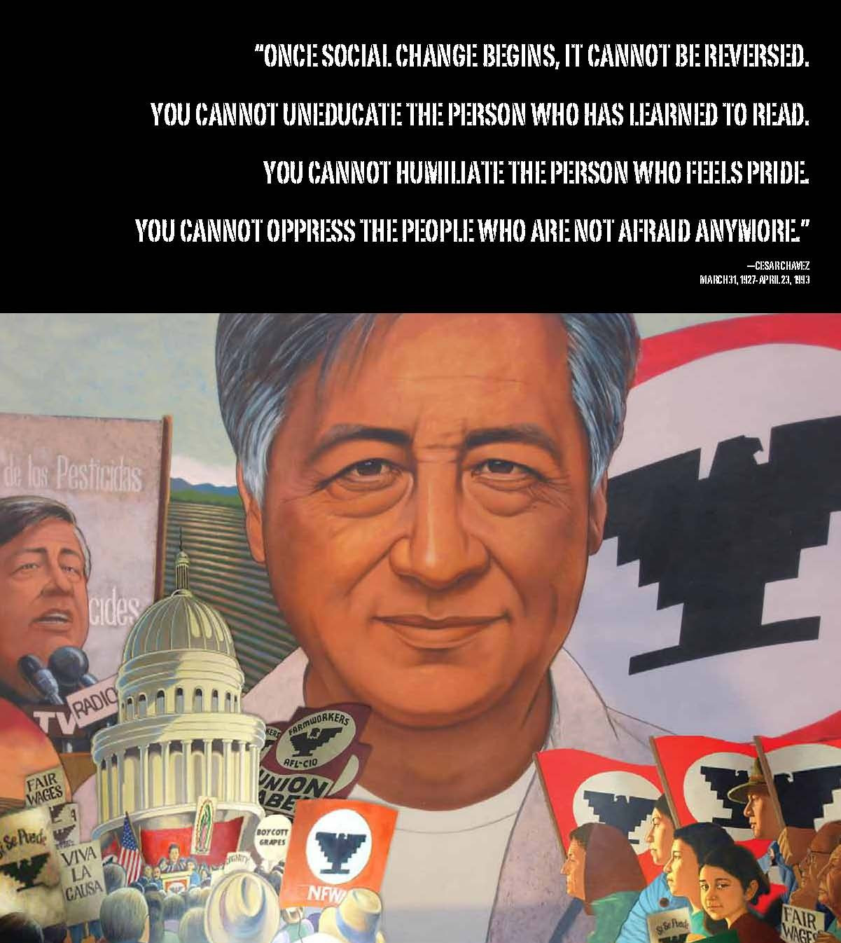 35 Of The Best Ideas For Cesar Chavez Quotes On Education