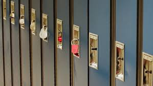 To demonstrate the idea of bringing your own lock for the lockers in dorm rooms