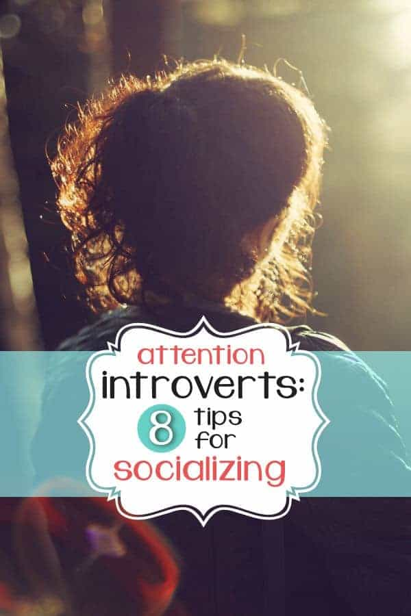 Attention Introverts: 8 Tips for Socializing