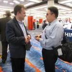 Joel interviewing David Bradburn from Baum USA at CSUN 2016