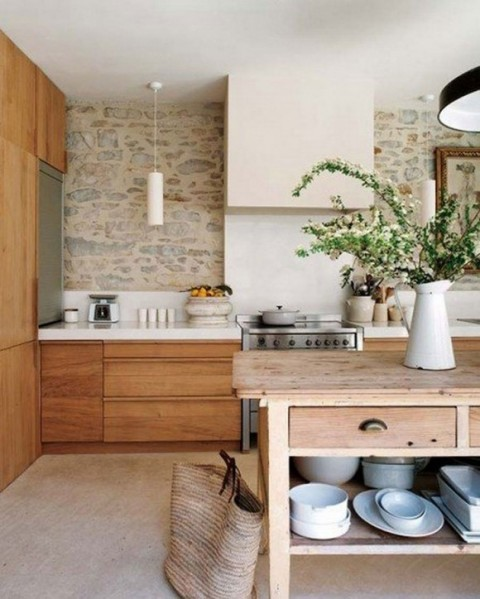 Contemporary Stone House Designs with Vintage Furnishing Constructions2