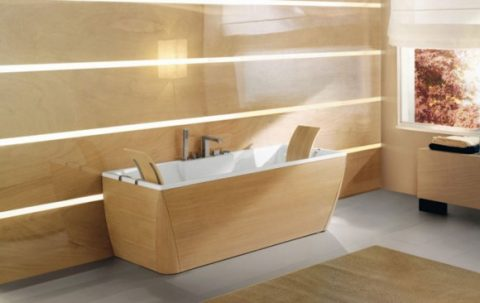Fashionable Colorful Bathtub Designs with Modern and Stylish Style02
