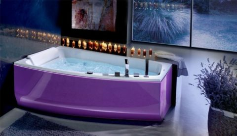 Fashionable Colorful Bathtub Designs with Modern and Stylish Style06