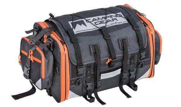 タナックス(TANAX) MOTOFIZZ キャンピングシートバッグ2 (アクティブオレンジ) 容量 59-75L MFK-254