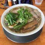 本荘市 ラーメン 松韻に行って来た 無化調の自家製の極上シコシコ麺