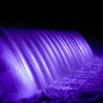 湯田ダム ライトアップ時間に遅れるな!美しき17の光と水のカーテン