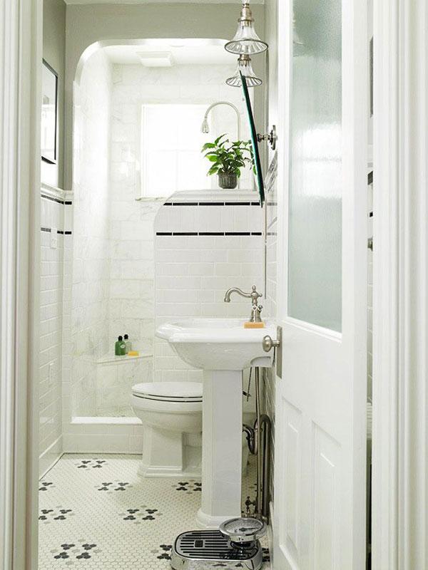Small Space Problem? 3 Big Ideas for a Small Bathroom ... on Space Bathroom  id=81293