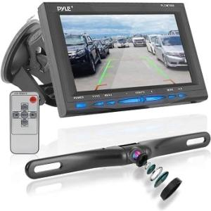 Pyle PLCM7500 Car Vehicle Backup Camera & Monitor