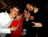 Avec les membres de Skeil et Delacrem, 2 groupes de potes de Cool Cavemen