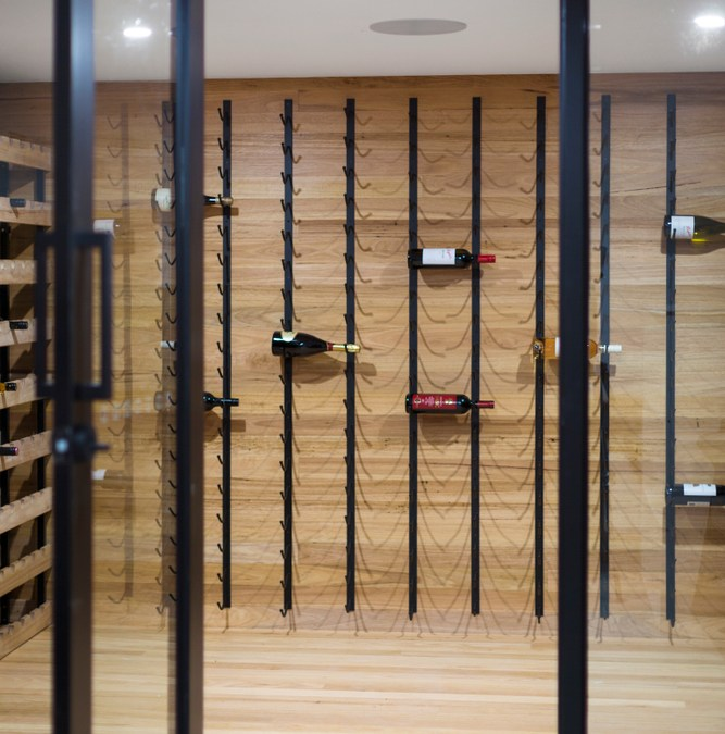 The Problem with a Glass Wine Cellar