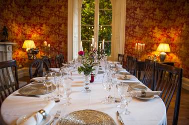 Dining at the manor