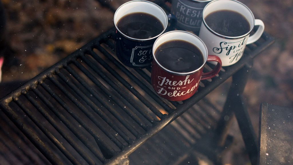 How to Make Coffee without a Fire While Camping