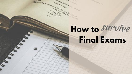 survive final exams