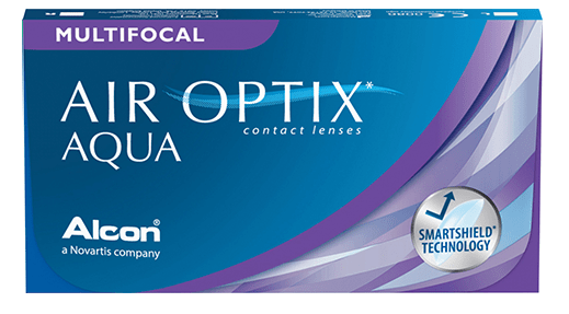 AIR OPTIX AQUA MULTIFOCAL - Air Optix Aqua Multifocal + Opti-free PureMoist Cleaner