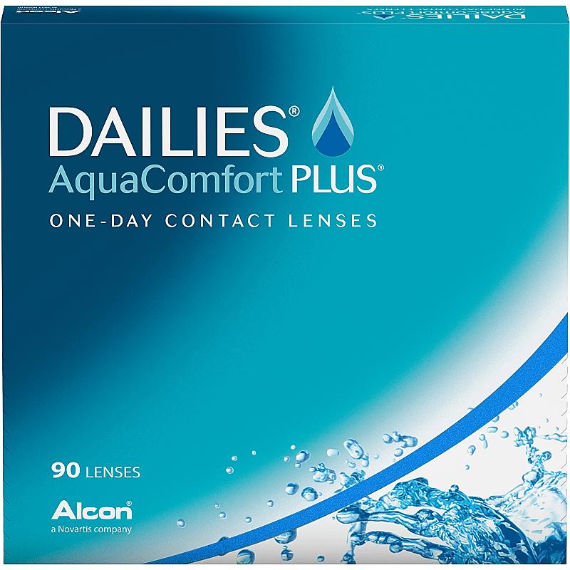 DAILIES AQUA COMFORT PLUS 90 - Dailies Aqua Comfort Plus (90 lenses/box)