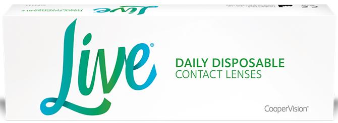 LIVE DAILY DISPOSABLES - Live Daily Disposable