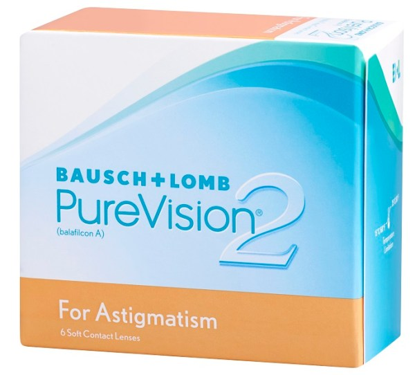 PUREVISION 2HD FOR ASTIGMATISM 6 PACK - PureVision 2HD For Astigmatism (6 lenses/box)