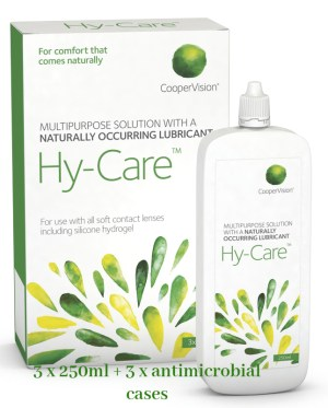 HY CARE SOLUTION 3 x 250ml - Refine One Step Solution | Travel Pack 60ml