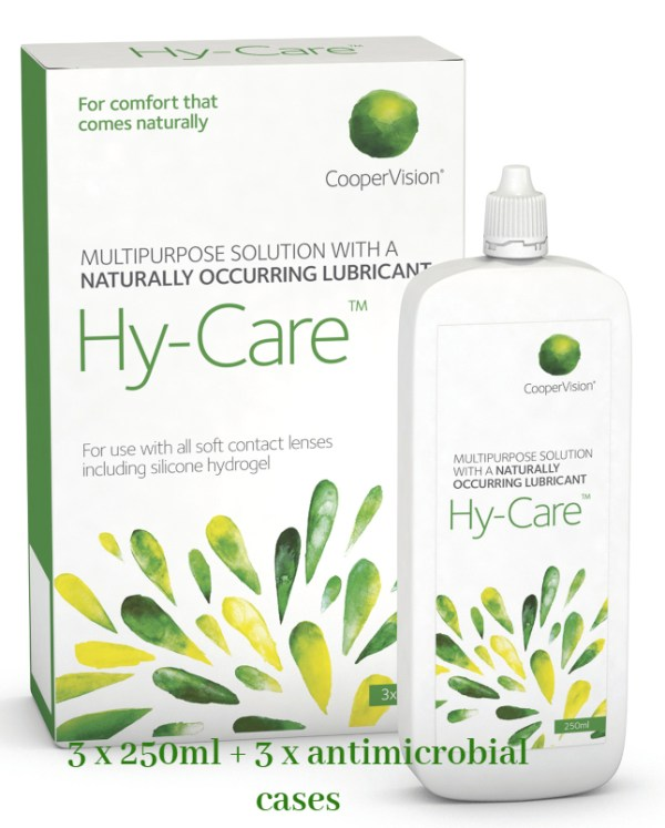 HY CARE SOLUTION 3 x 250ml - Hy-Care Solution