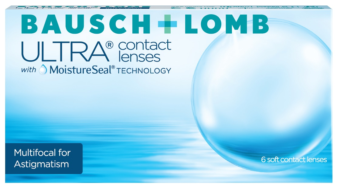 ULTRA MULTIFOCAL FOR ASTIGMATISM - Bausch & Lomb Ultra MULTIFOCAL for ASTIGMATISM + Biotrue Solution