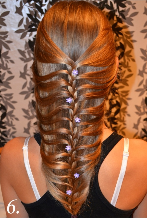 DIY Fishtail Braid Mermaid Braid Hairstyle