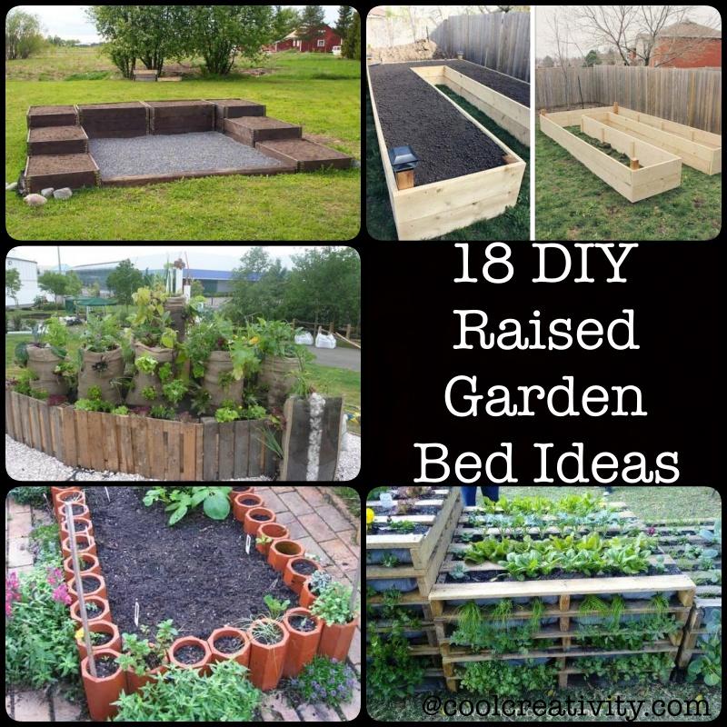 18 DIY Raised Garden Bed Ideas on Backyard Raised Garden Bed Ideas id=59034