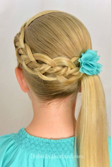 20 Fancy Little Girl Braids Hairstyle Page 3 Of 3