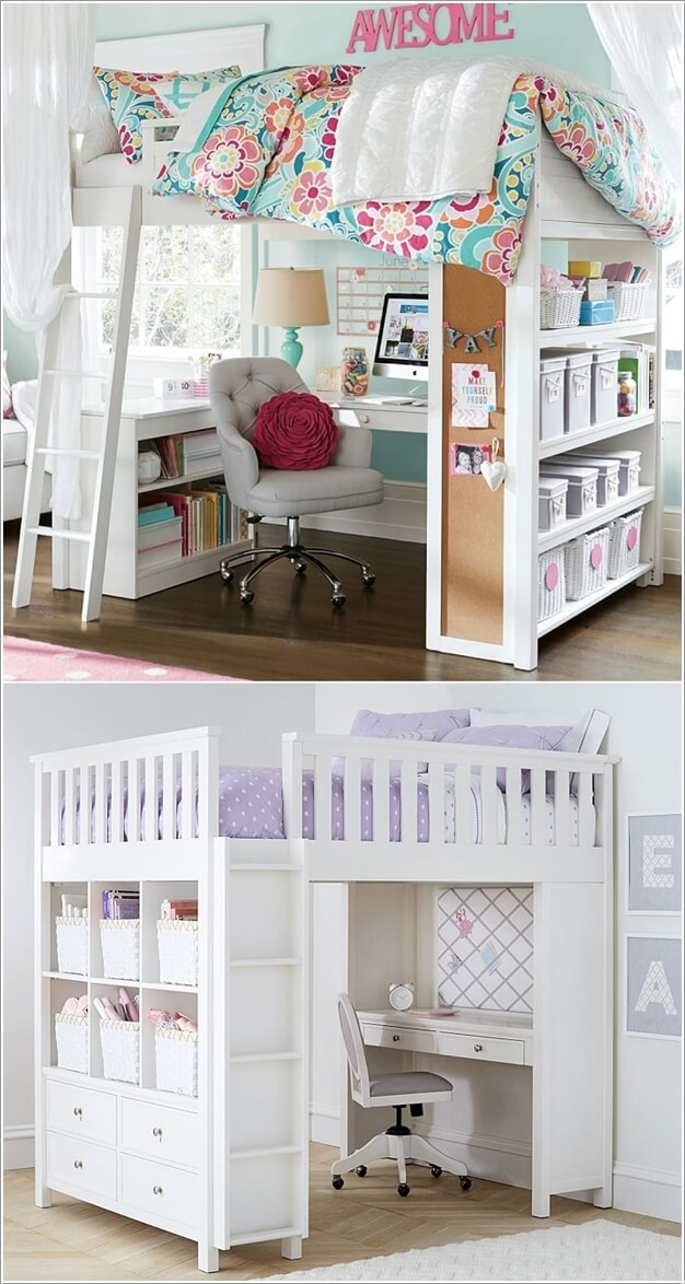 6 Space Saving Furniture Ideas for Small Kids Room - Page ... on Bedroom Ideas For Small Spaces  id=67096