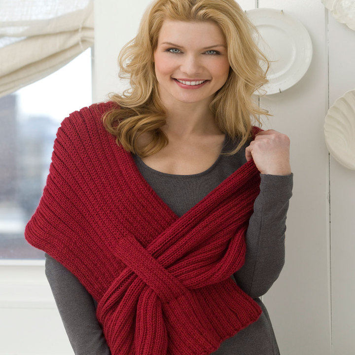 Scarves Knitting Patterns For Neck
