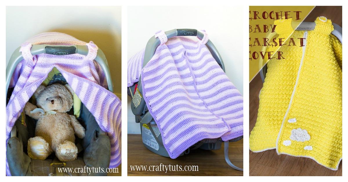 Crochet Car Seat Canopy Pattern