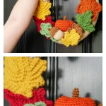 Mornings Of Autumn Wreath Crochet Pattern Cool Creativities