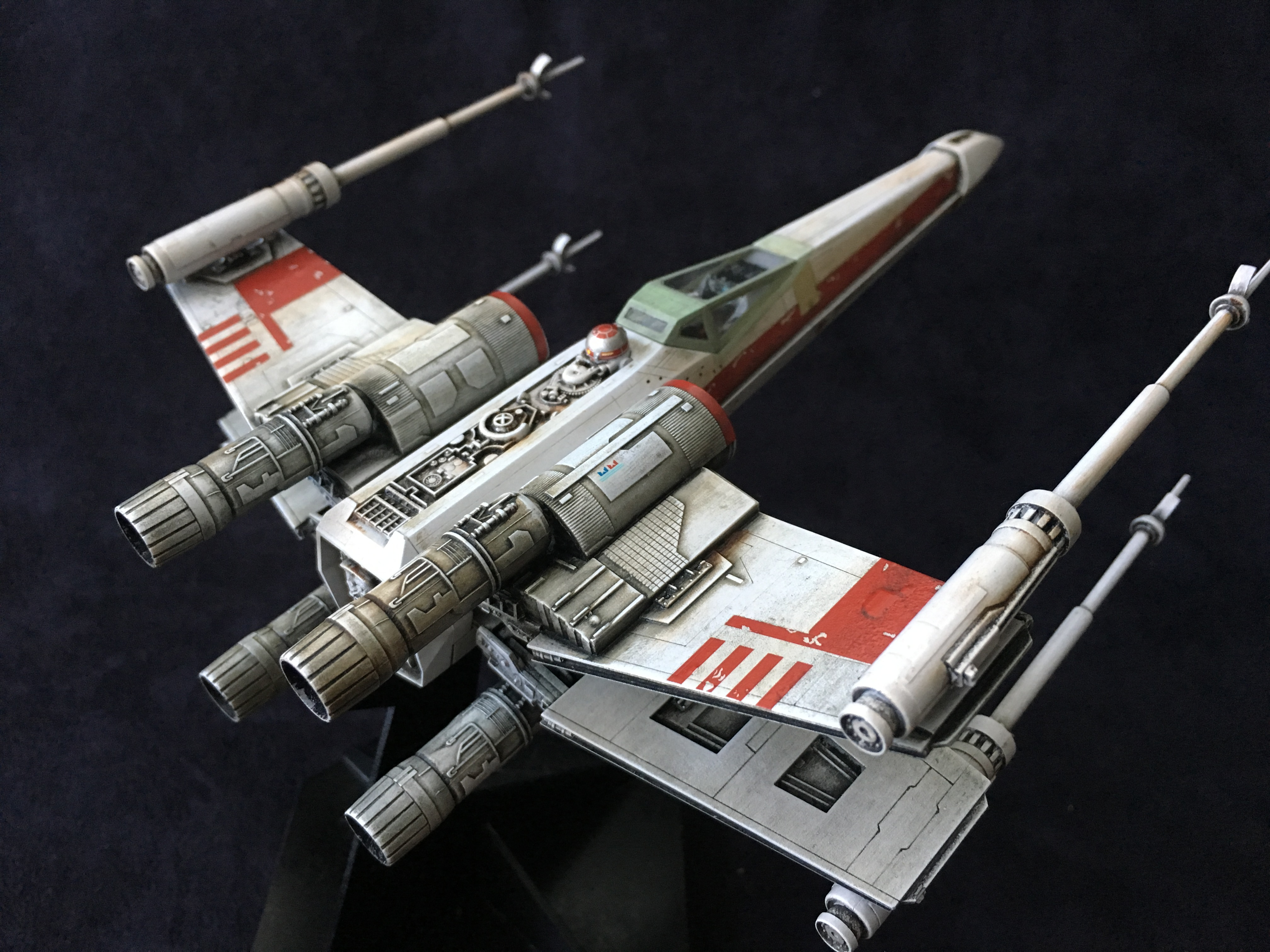 Star Wars X Wing 1 72 Finemolds Model Kit Build And Showcase