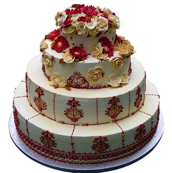 manju Wedding cake