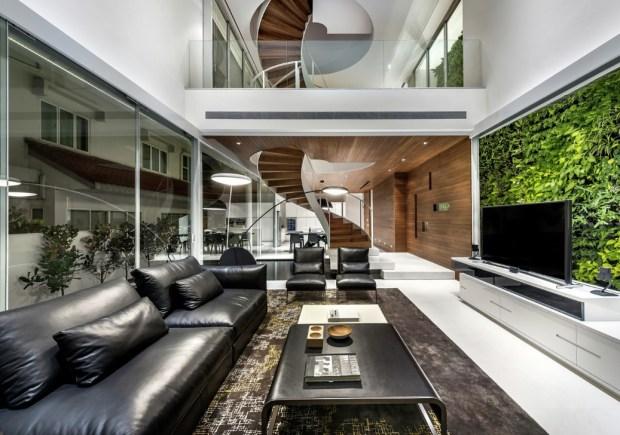 living-room-with-an-indoor-vertical-garden