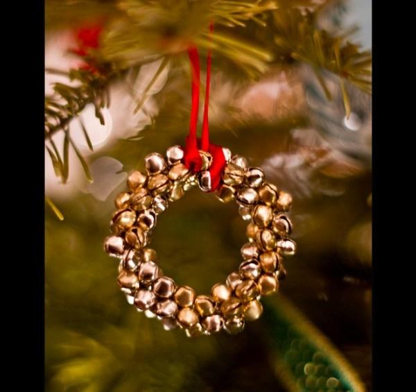Bell on Christmas tree