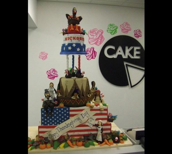 Cake - Thanksgiving cake