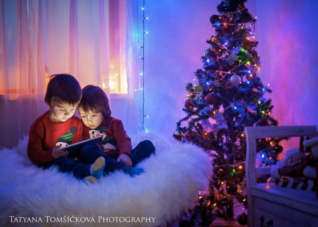 Early christmas spirit