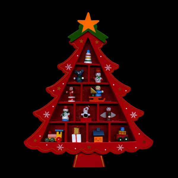 The Wooden Christmas Tree