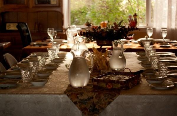 Very elegant & inviting table