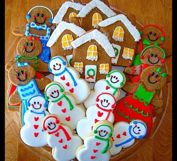 Thanks Christmas Cookies