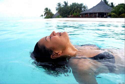 Realxing in Maldives by iujaz