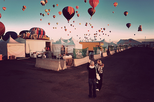 Back Alley at the Balloon Fiesta by a4gpa