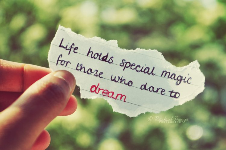 life holds special magic