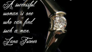 A successful man is one who makes more money than his wife can spend. A successful woman is one who can find such a man