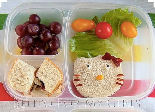 Lunch for my girls