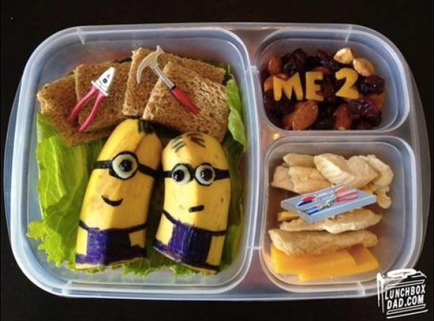 Minion lunch idea