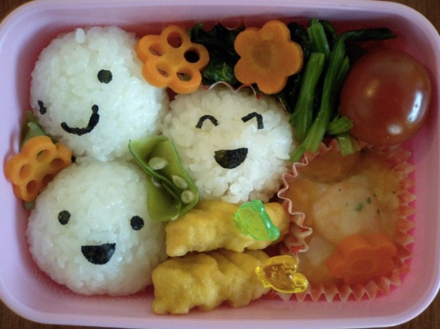 smiles onigiri three